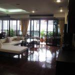 Duplex 2 bed 195 sq.m at kiarti thanee sukhumvit 31 to rent living room 2