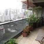 Duplex 2 bed 195 sq.m at kiarti thanee sukhumvit 31 to rent Balcony