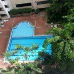 Renovated 1 bed 8 fl condo at Saranjai Mansion near Nana BTS to Rent Pool