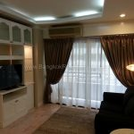 Renovated 1 bed 8 fl condo at Saranjai Mansion near Nana BTS to Rent Living room 3