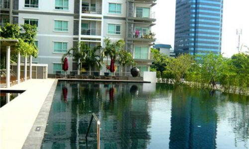 The Room Radchada Lad Phrao 1 bed 8 fl 41 sq.m Building B for sale