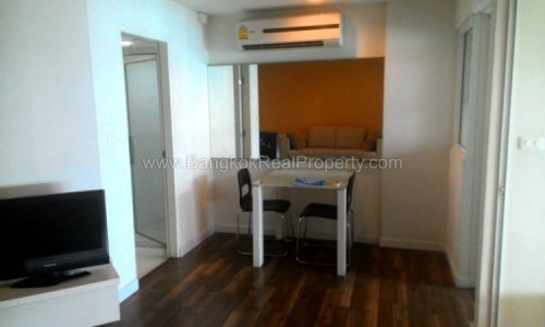 The Room Sukhumvit 79 1 bed 38 sq.m 6 floor overlooking courtyard 5 mins from BTS On Nut
