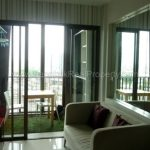 IDEO Mix sukhumvit103 1 bed 30 sq.m 12A floor to rent at Udomsuk BTS balcony