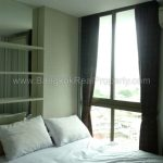 IDEO Mix sukhumvit103 1 bed 30 sq.m 12A floor to rent at Udomsuk BTS Bedroom Left