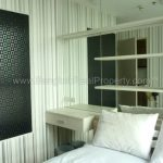 IDEO Mix sukhumvit103 1 bed 30 sq.m 12A floor to rent at Udomsuk BTS Bedroom Right