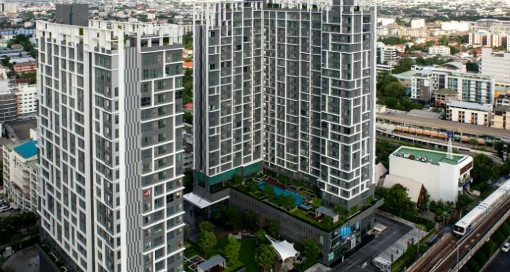 IDEO Mobi sukhumvit 81 at On Nut BTS 1 bed duplex 45 sq.m 22 floor to rent Featured