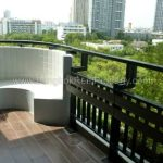 The Next 3 Garden Suite Sukhumvit 52 2 bed 2 bath top floor 104 sq.m for sale 7.9 million Balcony