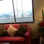 The Roof Garden Sukhumvit 50 1 bed 10 floor 65 sq.m condo to rent near On Nut BTS Couch