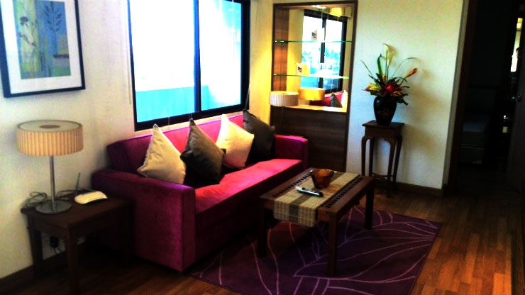 The Roof Garden Sukhumvit 50 1 bed 10 floor 65 sq.m condo to rent near On Nut BTS Feature