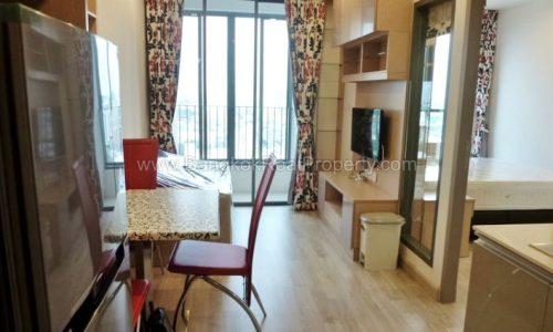 ideo mobi sukhumvit 81 at on nut bts 1 bed 31 sq.m 23 floor to rent