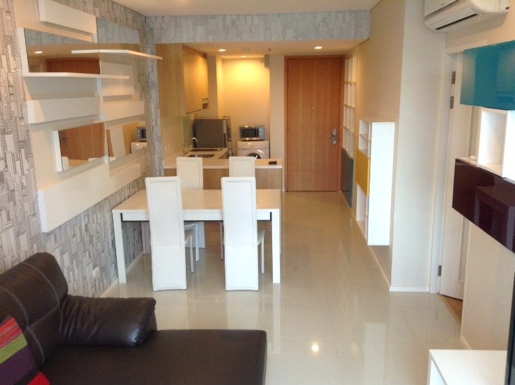 Villa Asoke 1 bed 16 floor for rent near MRT Featured