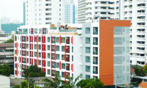 Click Condo Sukhumvit 65 top floor 2 bed 1 bath 52 sq.m for sale near Ekkhamai Featured