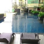 Nusasiri grand spacious 80 sq.m 1 bed 2 bath 18 floor to rent at BTS
