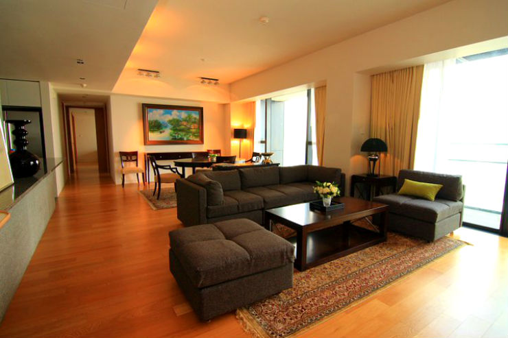 the met sathorn 3 bed 3bath 40th floor 196 sq.m for sale near BTS Featured