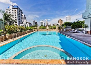 The Habitat Sukhumvit 53 large 3 bed 4 bath to rent