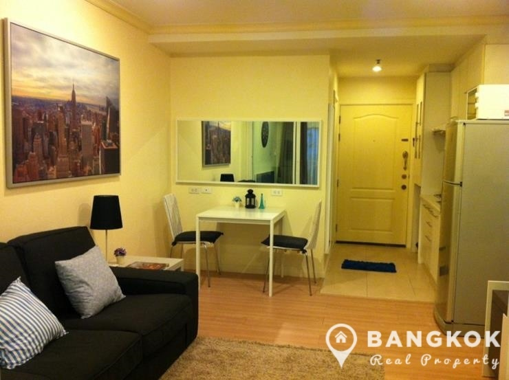 Sale grand parkview asoke mod 1 bed with private terrace for Whats a terrace house