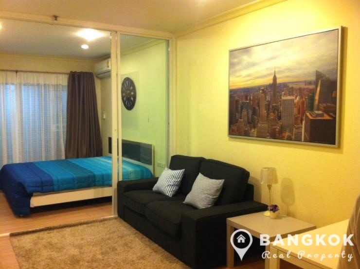 Grand Parkview Asoke 1 bed mid floor 35 sq.m with private terrace for sale in Asoke