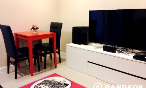 Zenith Place Sukhumvit high floor 1 bed 32 sq.m to rent near BTS