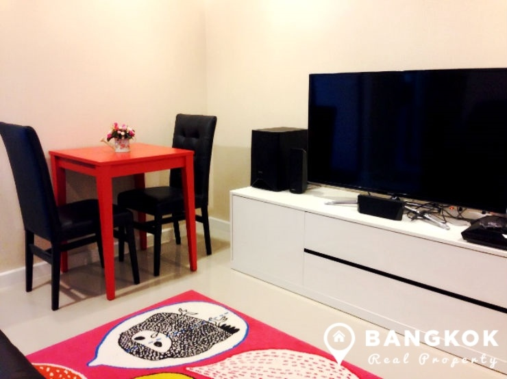 Zenith Place Sukhumvit high floor 1 bed 32 sq.m to rent near BTS