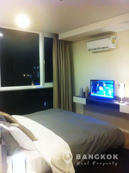 15-Sukhumvit-Residences-1-bed-near-nana-BTS-to-rent-Bedroom