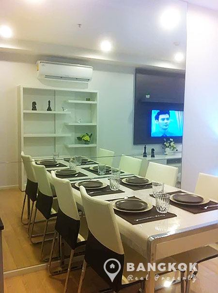 15-Sukhumvit-Residences-1-bed-near-nana-BTS-to-rent-Dinning