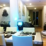 15-Sukhumvit-Residences-1-bed-near-nana-BTS-to-rent-Living-room