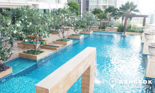 Le Luk Condo Spacious High floor 1 bed to rent at BTS