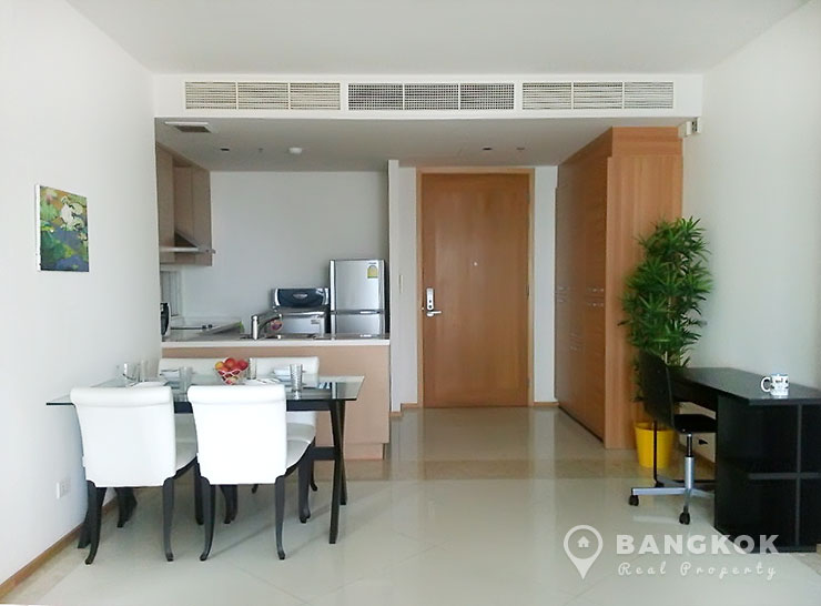 The Empire Place | Spacious High Floor 1 Bed near Chong Nonsi BTS photo