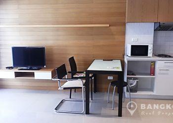 Condo One Siam Studio 38 sq.m Mid Floor to rent