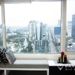 Manhattan Chidlom High Floor 2 bed 2 bath condo for sale