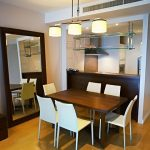 Athenee Residence Condo Chidlom BTS 1 bedroom Dining area