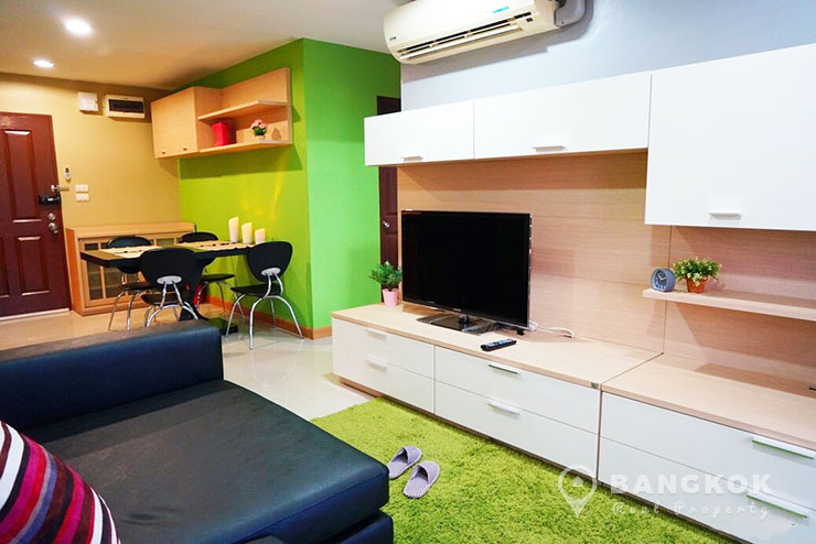The Link 4 Condo Onnut BTS Bright two bedrooms