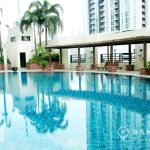 Baan Piya Sathorn Condo Lumpini MRT Swimming Pool