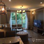 Baan Siri Yenakart Lumpini MRT Living Room Trees