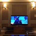 Baan Siri Yenakart Lumpini MRT Living Room TV Corner
