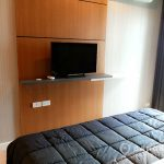 D25 Condo Thong Lo TV in Bedroom