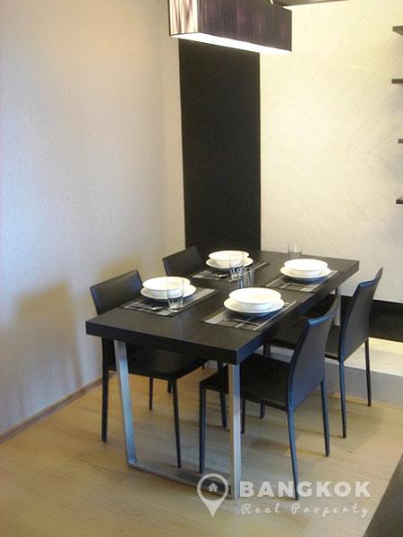 Hyde Sukhumvit mid floor 1 bed 55 sq.m for rent