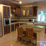 Baan Klang Krung Village Thong Lor BTS 4 bed 6 bath Kitchen
