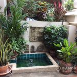 Baan Klang Krung Village Thong Lor BTS 4 bed 6 bath Little Fountain