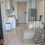 Ideo Mobi Rama 9 MRT 1 bedroom 19k Living Room