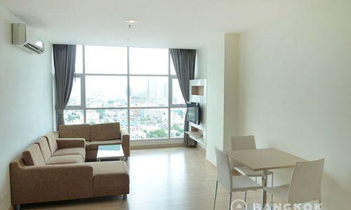 Rhythm Radchada high floor 2 bed 2 bath 68 sq.m at MRT