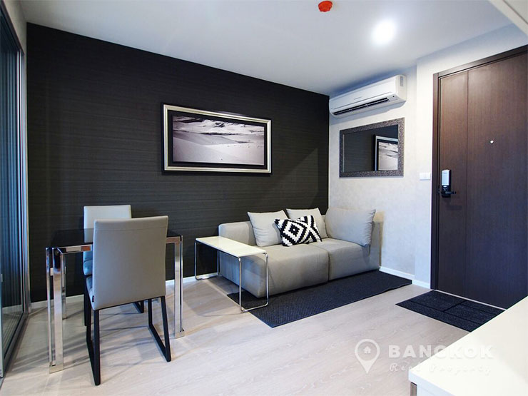Rhythm-Sathorn-mid-floor-modern-1-bed-near-surasak-BTS