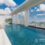 Rhythm-Sathorn-mid-floor-modern-1-bed-near-surasak-BTS-swimming-pool