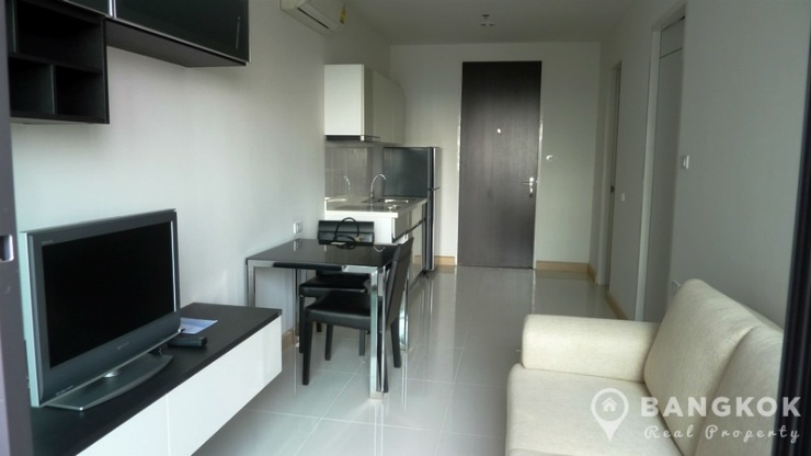 The President Sukhumvit 81 | Brand New Modern 1 Bed at BTS photo