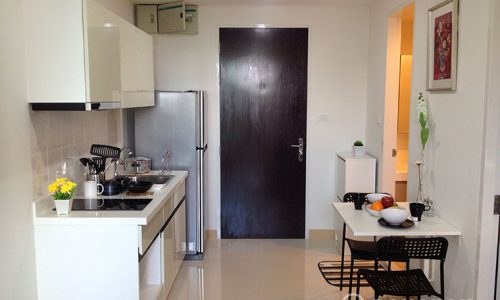 President Sukhumvit mid floor 1 bed 35 sq.m to rent near BTS