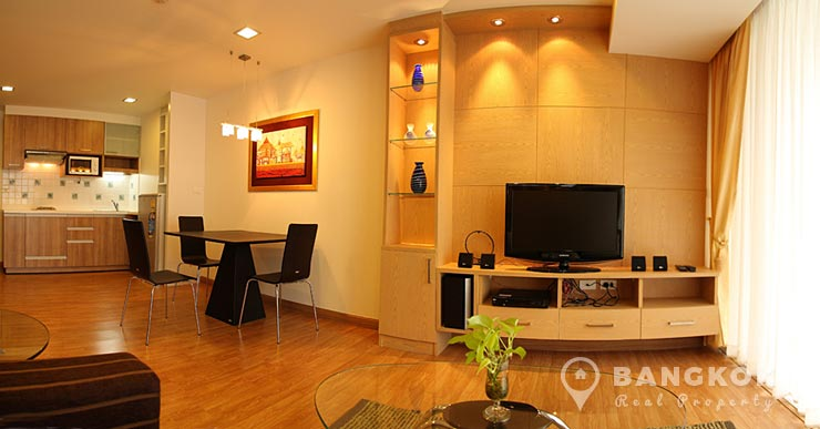 The Alcove 49 Spacious Modern 2 Bed 2 Bath near Thong Lo BTS to rent