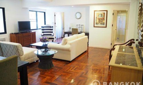 La Maison Ruamrudee Condo 2 bed 2 bath 120 sq.m to rent near BTS