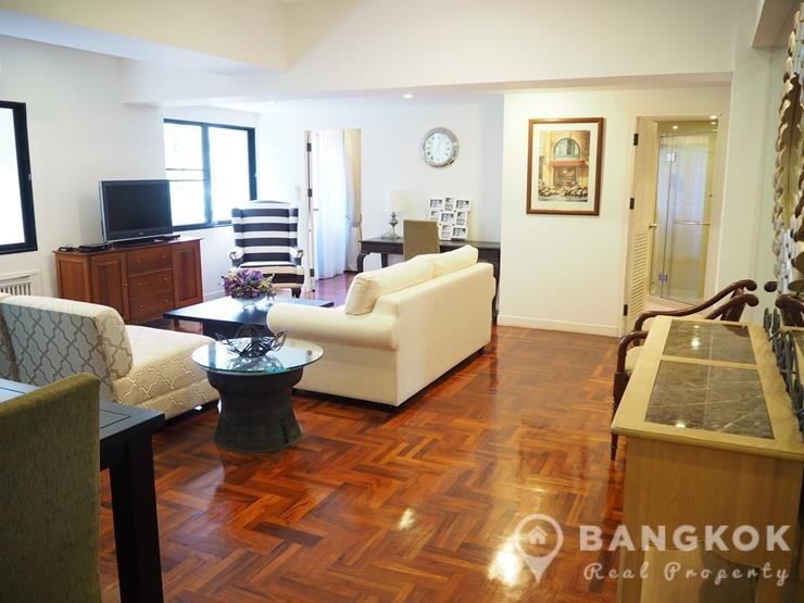 La Maison Ruamrudee Condo 2 bed 2 bath 120 sq.m to rent near BTS