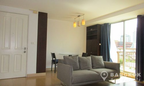 Plus 67 Condo 2 bed 2 bath high floor corner for rent near BTS