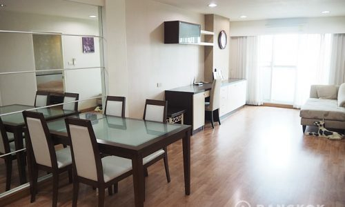 The Roof Garden Sukhumvit Spacious 1 Bed with 2 Livingroom's near BTS to rent